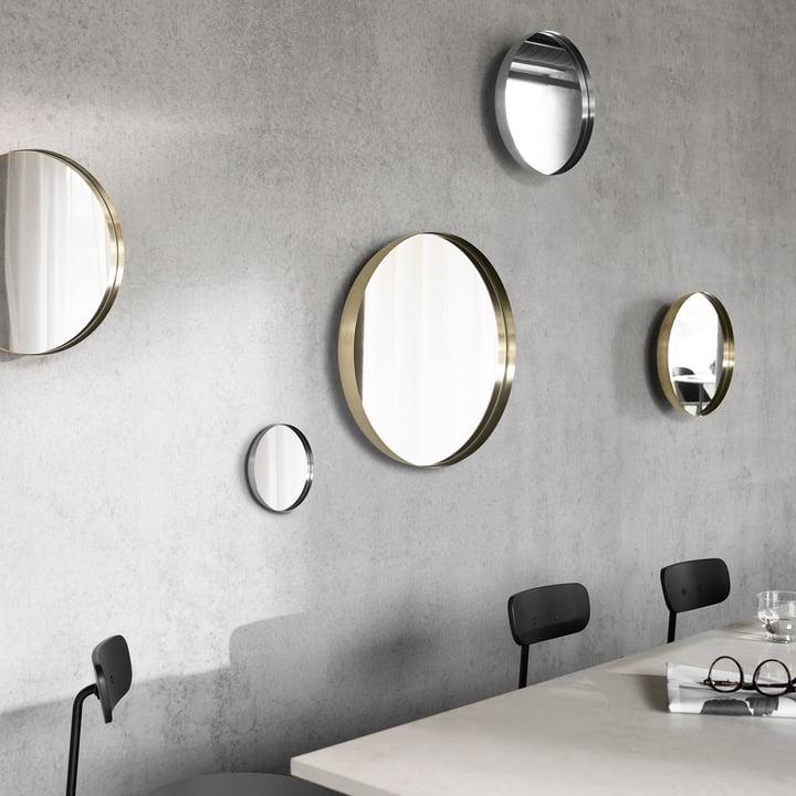 Darkly Spiegel von Menu in verschiedenen Größen