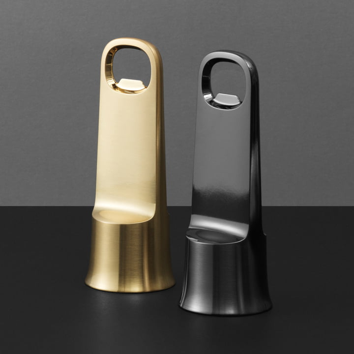 Der Normann Copenhagen - Bell Flaschenöffner in gold und schwarz