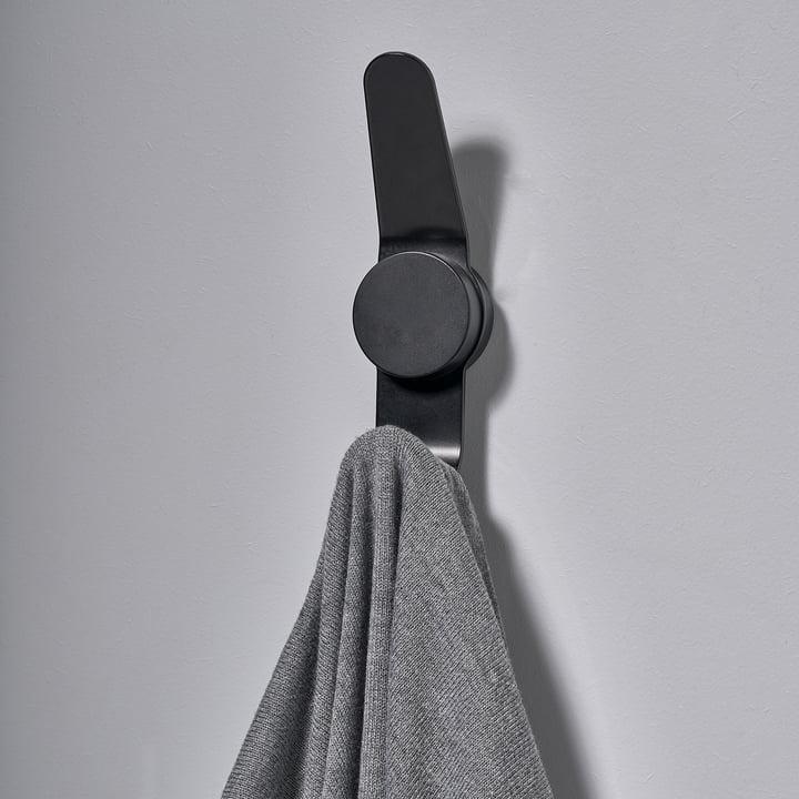 Der Zone Denmark - Puck Hook Double in schwarz mit Handtuch