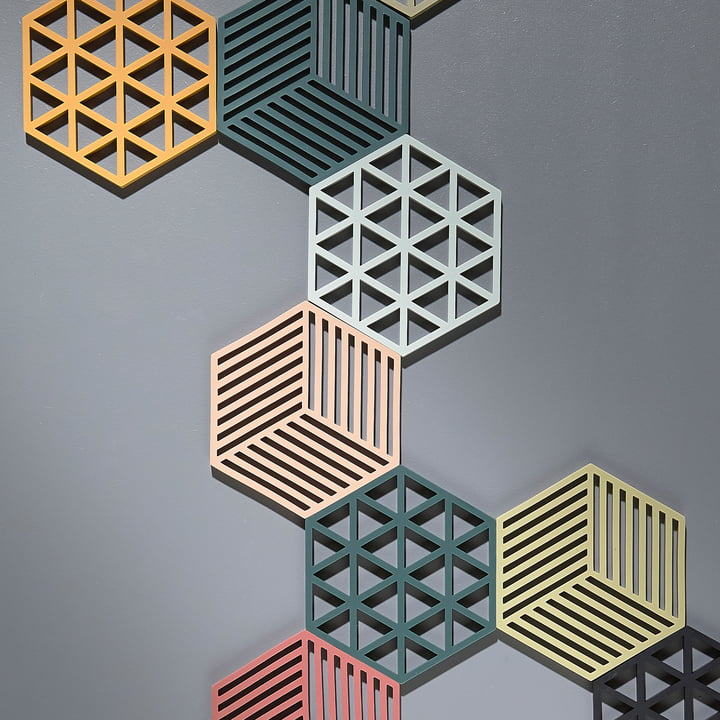 Der Zone Denmark - Hexagon und Triangle Untersetzer