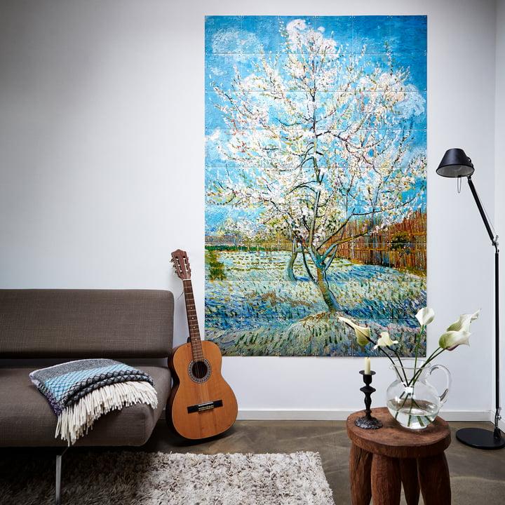 Blühender Pfirsichbaum (Van Gogh) von IXXI