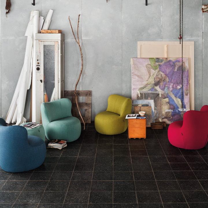 173 Sessel von freistil in verschiedenen Farben