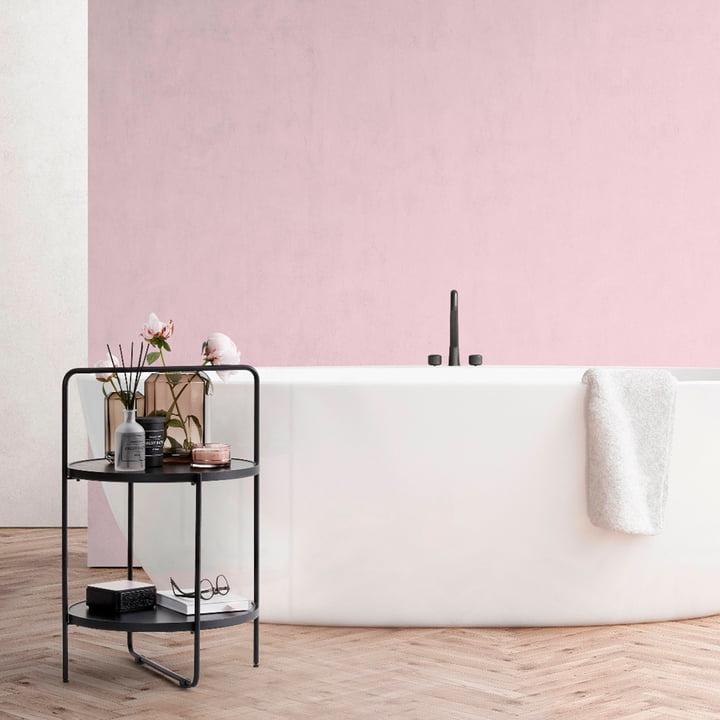 Der Andersen Furniture - Beistelltisch in schwarz / schwarz im Badezimmer