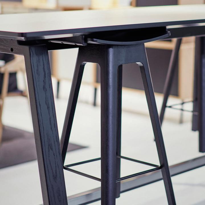 Der Andersen Furniture - HC1 Barhocker am Tisch
