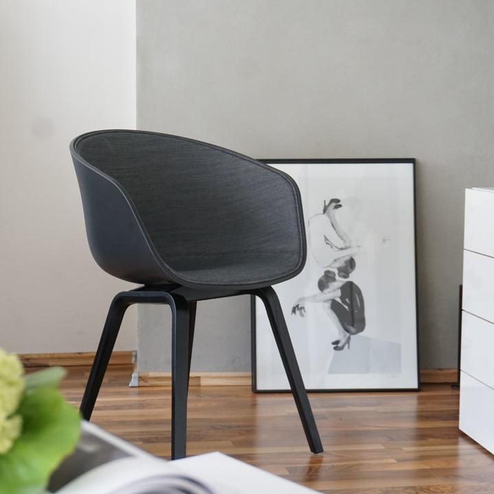 About A Chair von Hay in black bei Stilreich