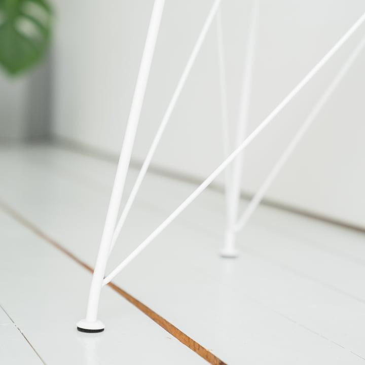 Connox Collection - Brace Beistelltisch, weiß