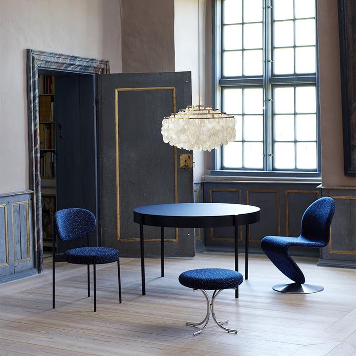 Der Verpan - Stuhl und Tisch 430 im Esszimmer