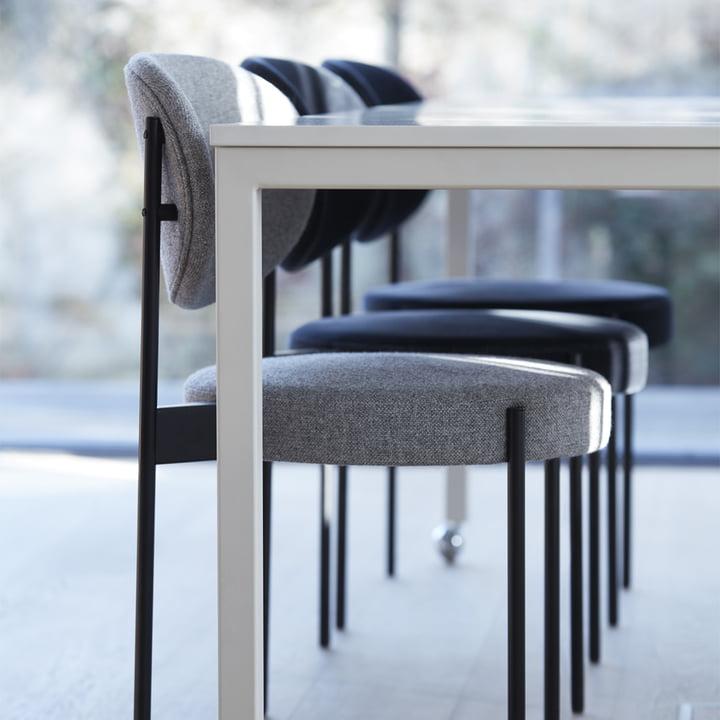 Der Verpan - Stuhl und Tisch 430 in verschiedenen Farben