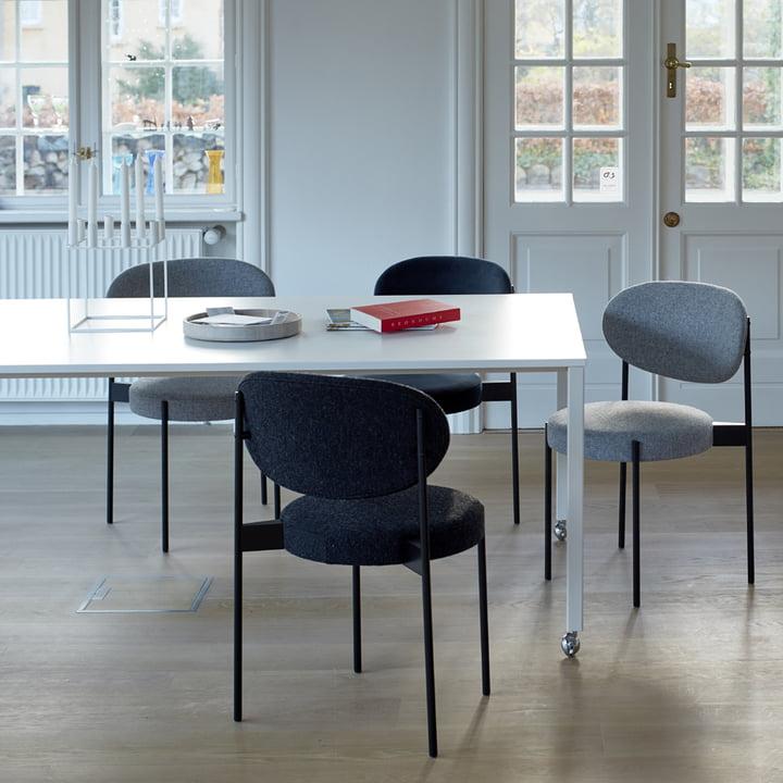 Der Verpan - Stuhl und Tisch 430 im Büro