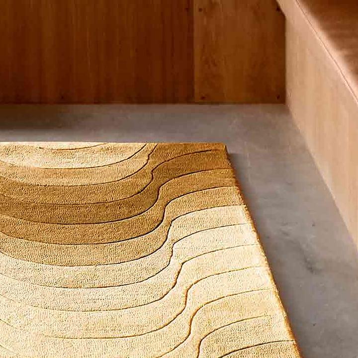 Der Verpan - Wave Teppich im Detail