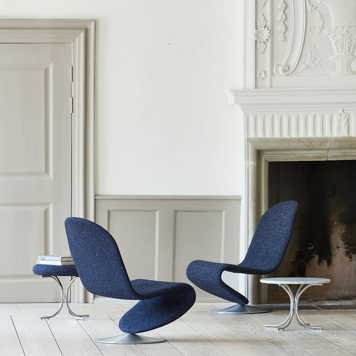 Modular Tisch und System 1-2-3 Lounge Chair Standard von Verpan