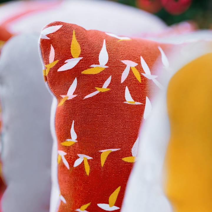 Das Fermob - Ava Bodenkissen, 70 x 70 cm, terracotta