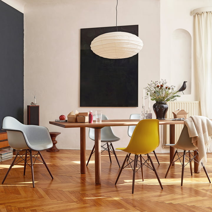 dsw stuhl von vitra eames plastic side chair dsw connox. Black Bedroom Furniture Sets. Home Design Ideas