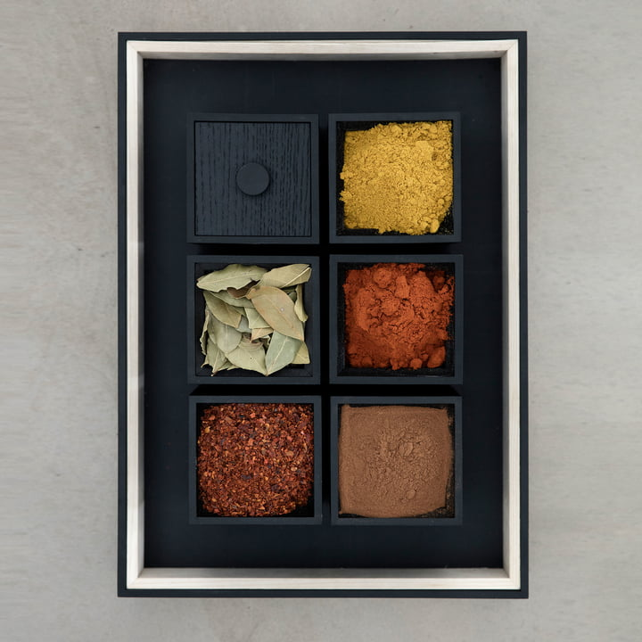 Frame Tablett und Frame Boxen von by Lassen
