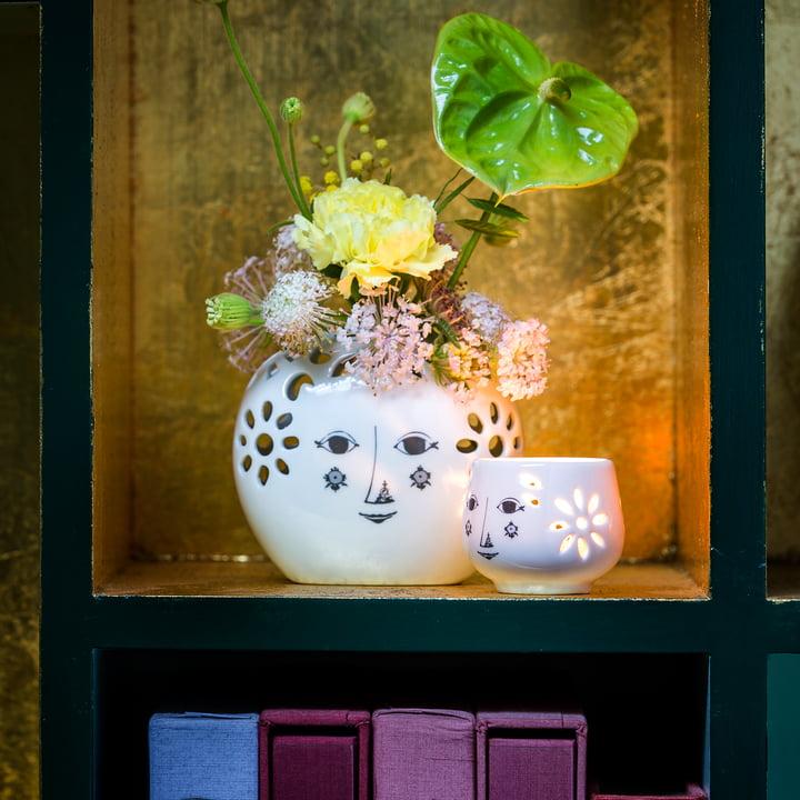 Teelichthalter Flowerhead von Bjørn Wiinblad