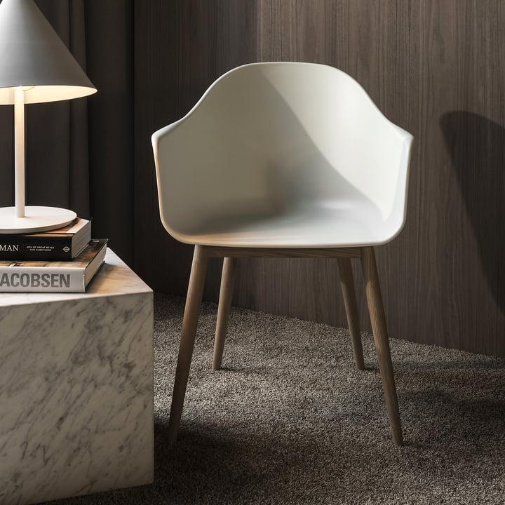 Menu - Harbour Chair, eiche natur / weiß