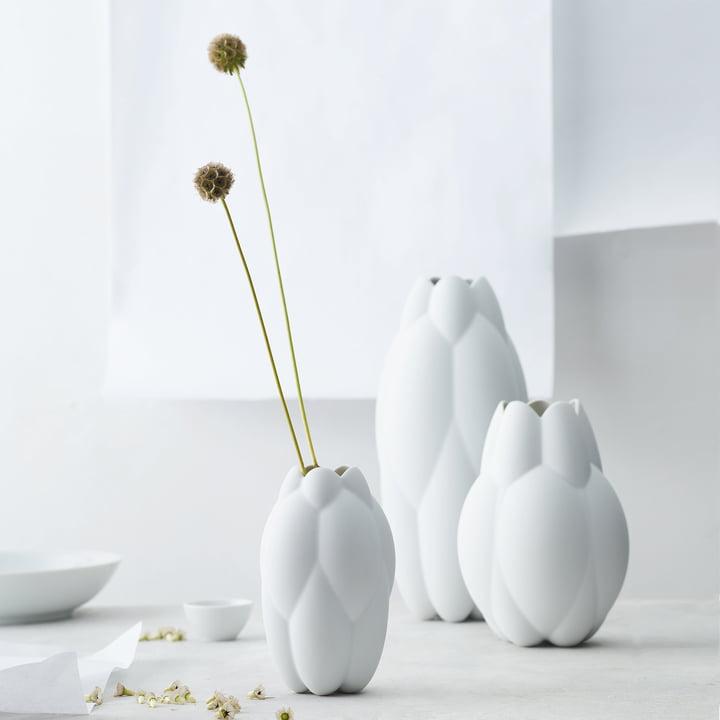 Core Vase von Rosenthal in Weiß