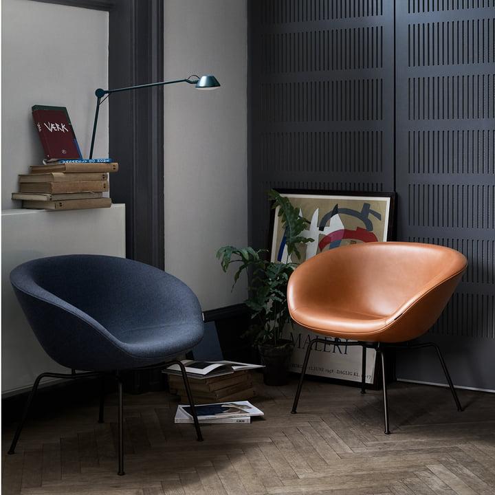Der Fritz Hansen - Pot Sessel in verschiedenen Farben