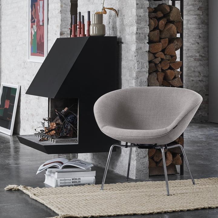Der Fritz Hansen - Pot Sessel im Ambiente