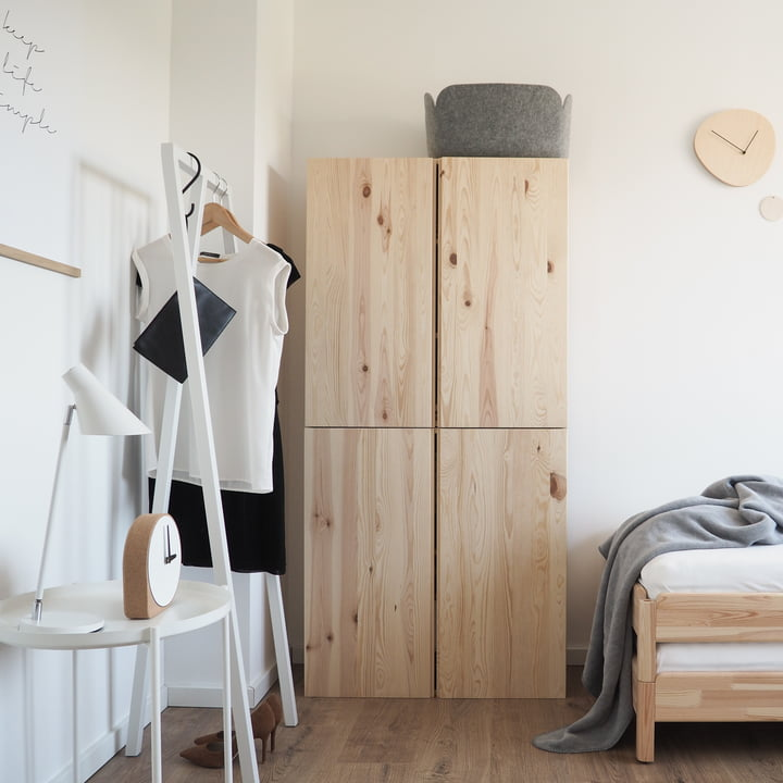 loop stand garderobe von hay connox shop. Black Bedroom Furniture Sets. Home Design Ideas