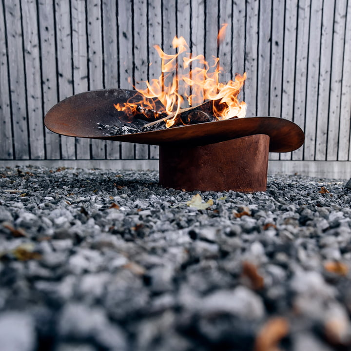 Die höfats - Ellipse Feuerschale