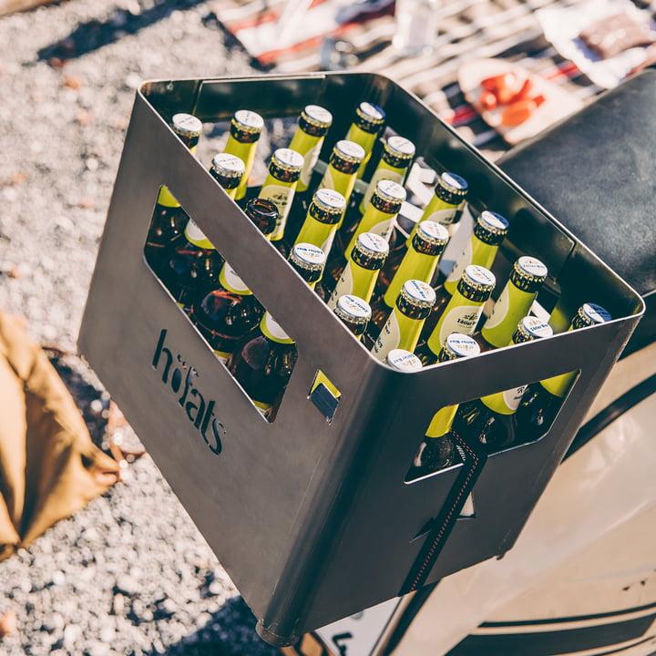 Der höfats - Beer Box Feuerkorb