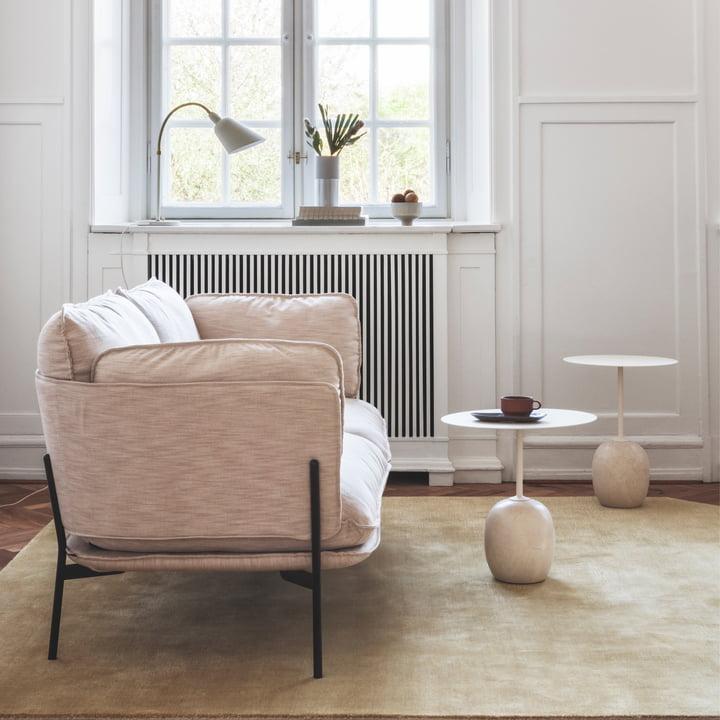 Lato Beistelltisch und Cloud Sofa von &Tradition