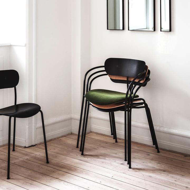 Pavilion Stuhl und Armlehnstuhl von &Tradition