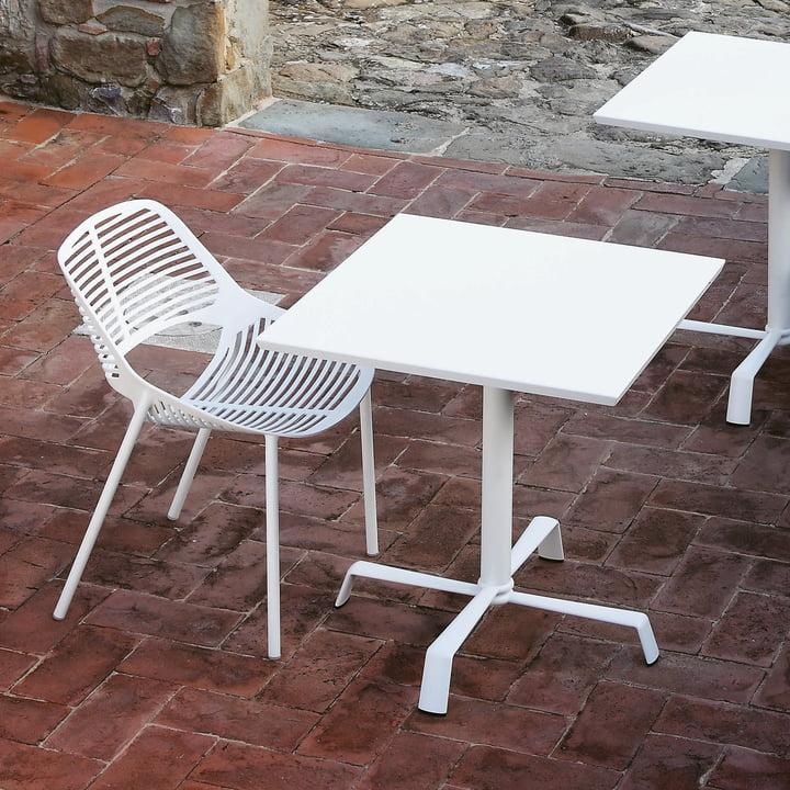 Niwa Stuhl von Fast in Weiß