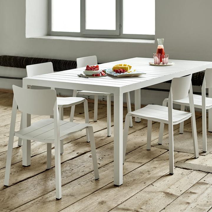 Flow Stühle und Tisch von Weishäupl
