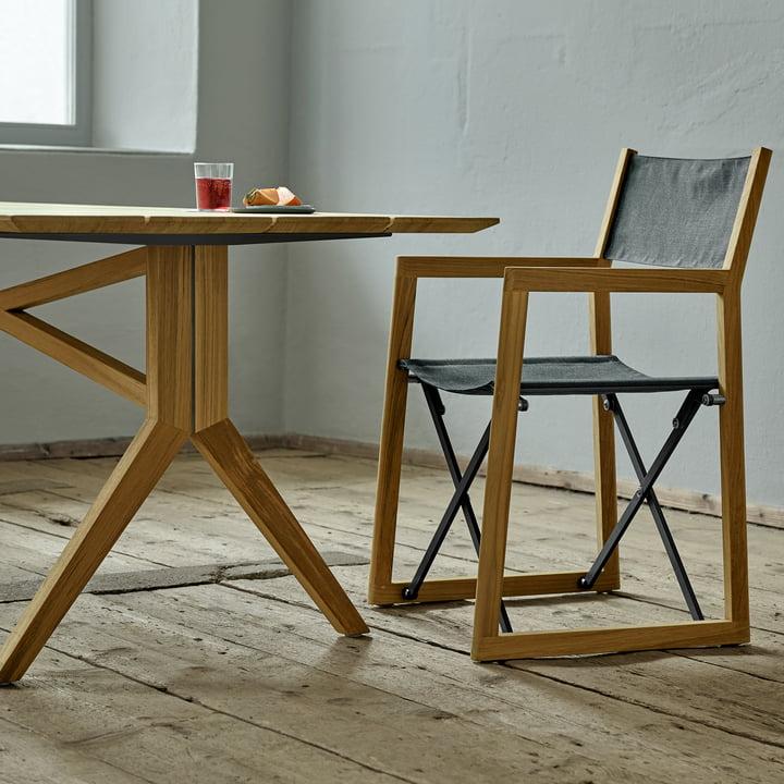 Der Weishäupl- Loft Stuhl mit passendem Loft Tisch