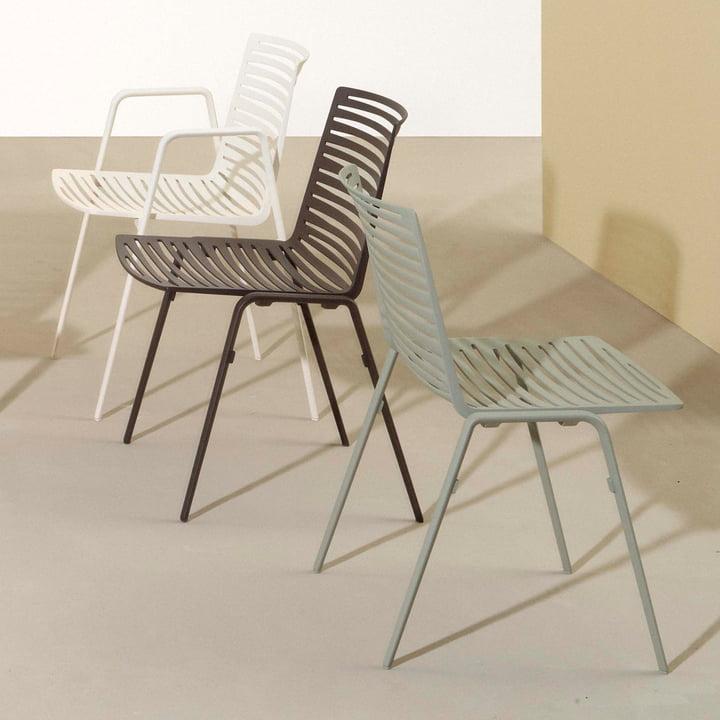 Zebra Stuhl und Armlehnstuhl von Fast