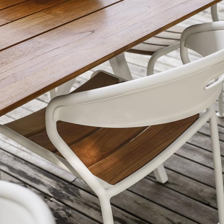 Der Gloster - Curve Stuhl im Detail
