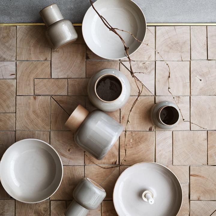 Die Fritz Hansen - Jar Vase, klein und groß