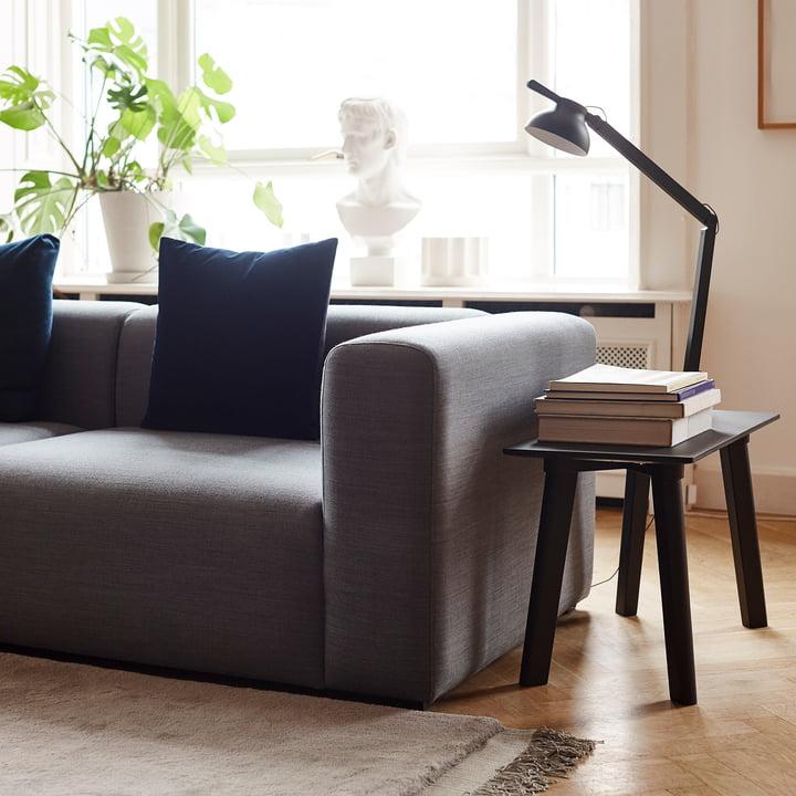 Mags Sofa 2,5-Sitzer, Kombination 1 von Hay in Hhellgrau (Surface 120)
