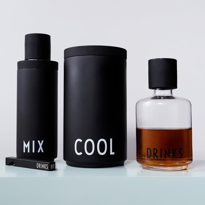 Flaschenöffner und Karaffe von Design Letters