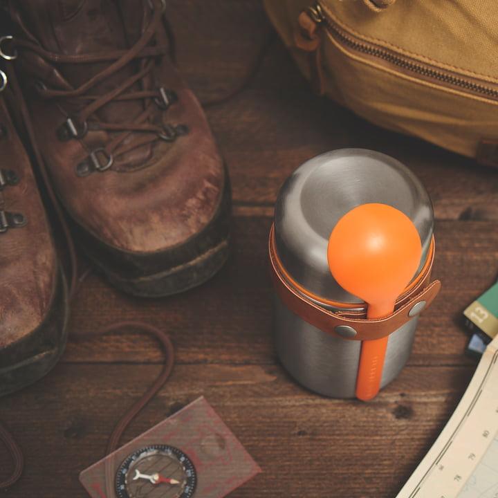 Der Black + Blum - Food Flask Thermo-Behälter in orange