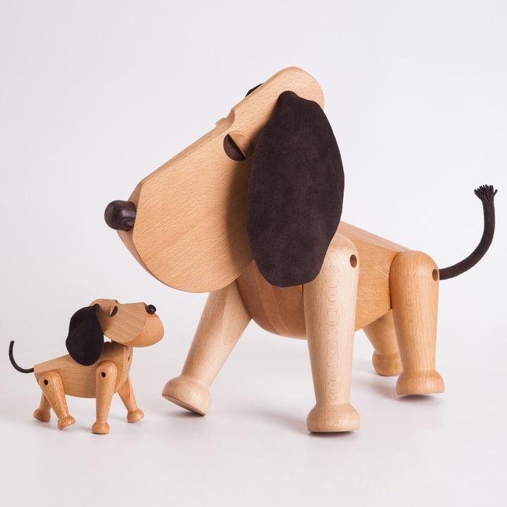 Architectmade - Holzhund Oscar & Rufus