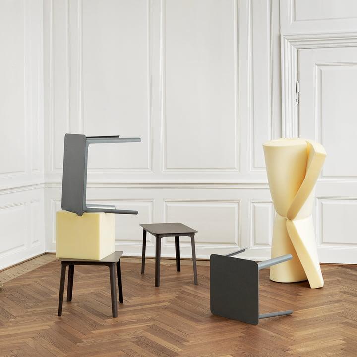 Der Normann Copenhagen - Steady Tisch - kunstvoll arrangiert