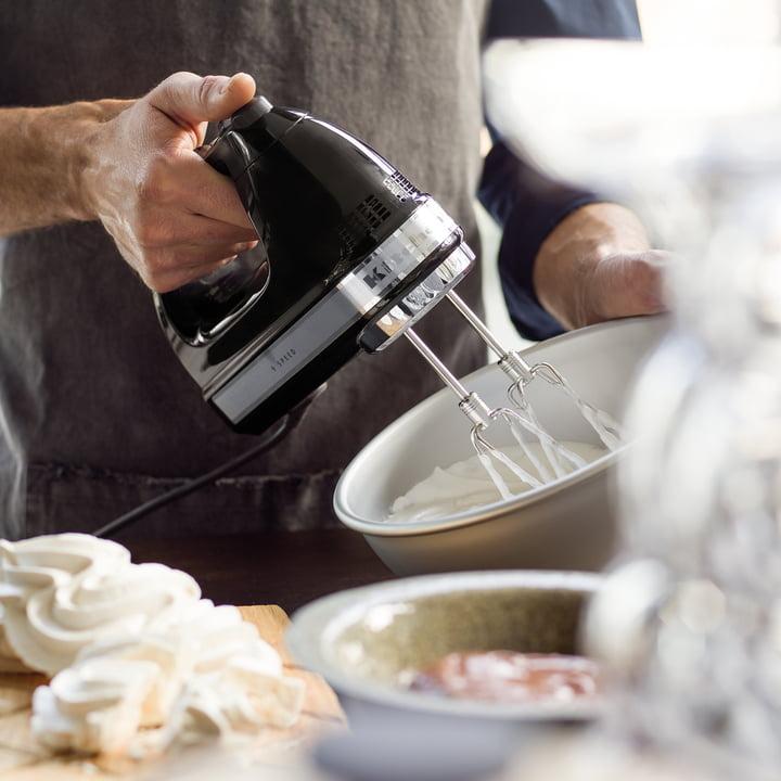 KitchenAid - Handmixer (Kabel), onyx schwarz