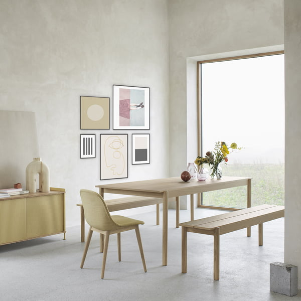 Muuto - Linear Wood Esstisch