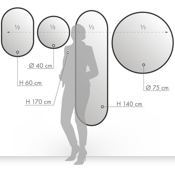 Badezimmerspiegel Hohe.Design Spiegel Online Kaufen Connox Shop