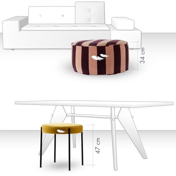 Hocker - Sitzkomfort