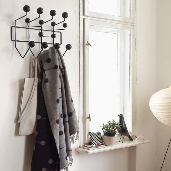 Hang it all Garderobe von Vitra in Esche schwarz / schwarz