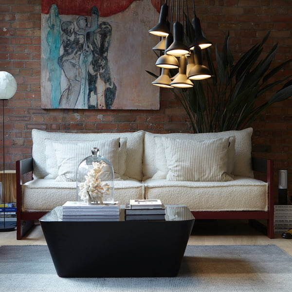 Torch Light Round Pendelleuchte, Cassette Sofa Und Zero In Sofatisch Von  Established U0026 Sons