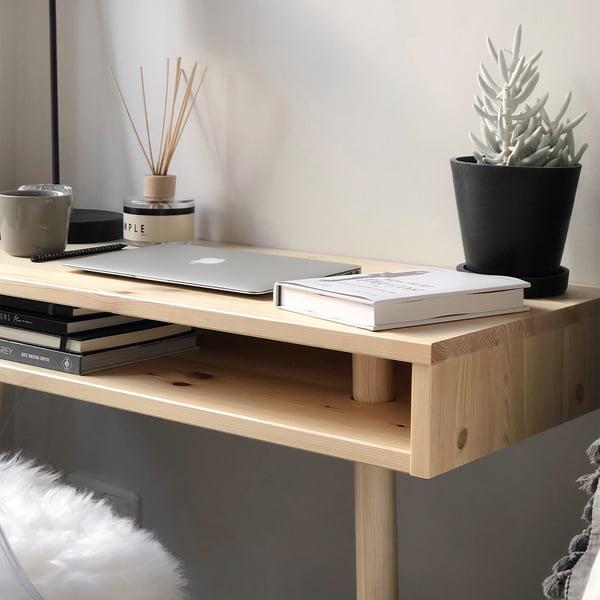 Capo Konsolentisch in Natur von Karup Design als Schreibtisch