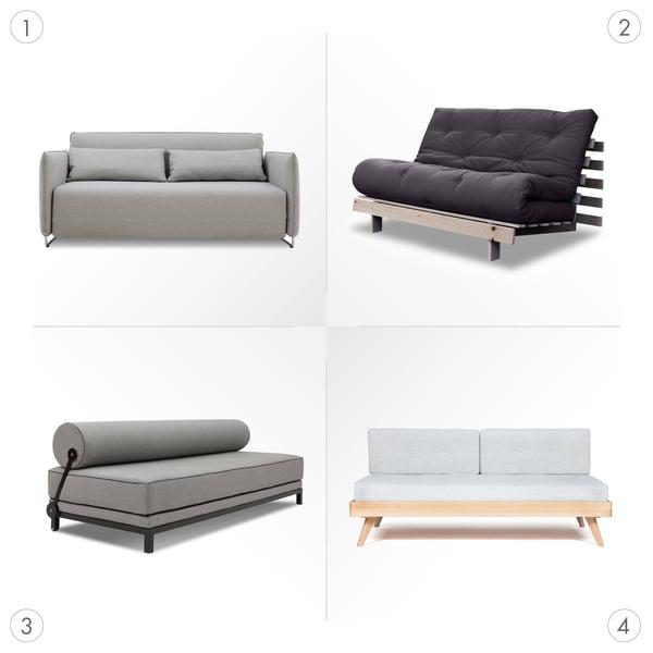 Sofa Grafik 3 - Schlafsofas