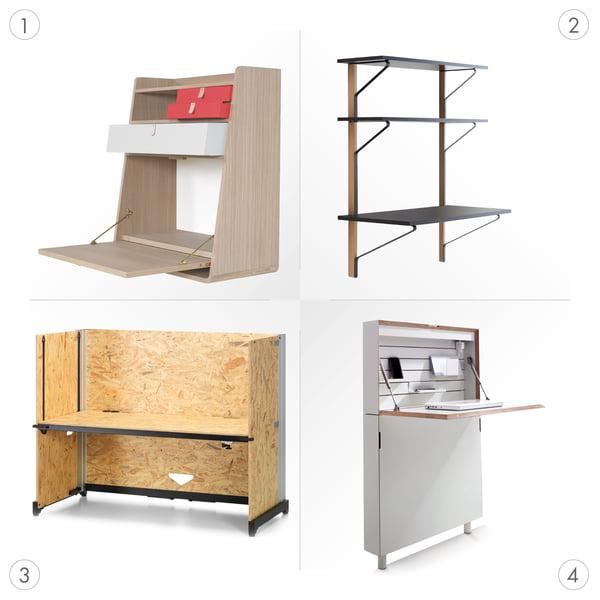 Schreibtisch Grafik 3 - verschiedene Arten
