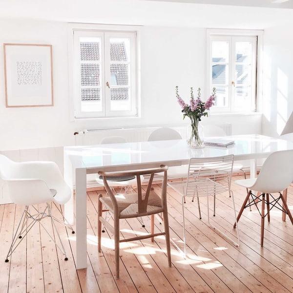 Karlas View Homestory - Esszimmer - Carl Hansen, Hay und Vitra