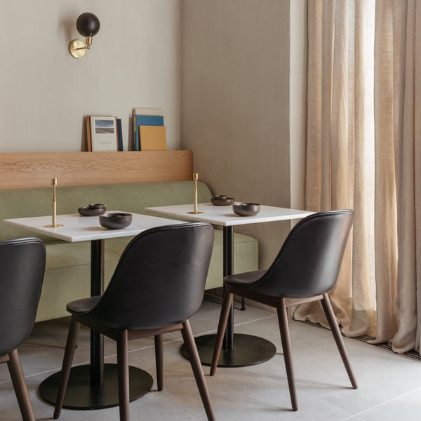 Menu - Harbour Dining Side Chair, Eiche dunkel gebeizt